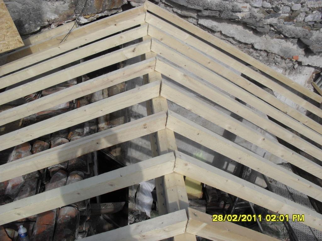 Agrandir sa maison par le toit extension ossature bois un for Agrandir sa maison en bois